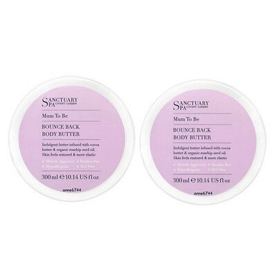 Sanctuary Spa MUM TO BE Bounce Back Body Butter - 2 x 300ml