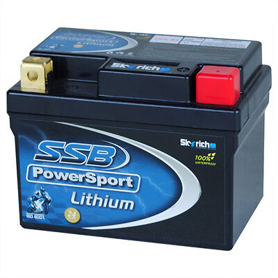 New 12V220Cca Lithium Motorcycle Battery Lh7L-Bs