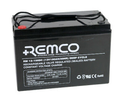 NEW AGM 12V80Ah BATTERY RM12-80DC