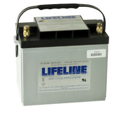 New Agm 12V80Ah Lifeline Agm Battery Gpl-24T