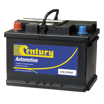 NEW 12V500CCA Century Automotive Battery DIN53RMF