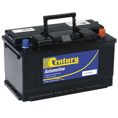 NEW 12V730CCA Century Automotive Battery DIN75LMF