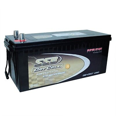 New Agm12V270Ah Battery Hvt270D