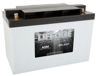 NEW 12V125Ah 650CCA LIFELINE AGM BATTERY GPL-31XT