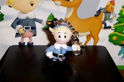 """Rudolph Island of Misfit Toys HERMEY 2.5"""" Holiday Clip On PVC Figure HERMIE"""