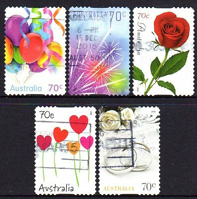 2014 Special Occasions (01) Group Of 5 Self Adhesive Issues