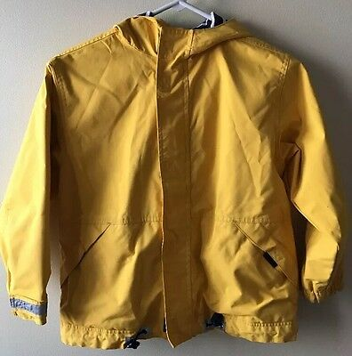 Hanna Andersson Boys Jacket Yellow  Lined Size 130 Size 8 10 GUC