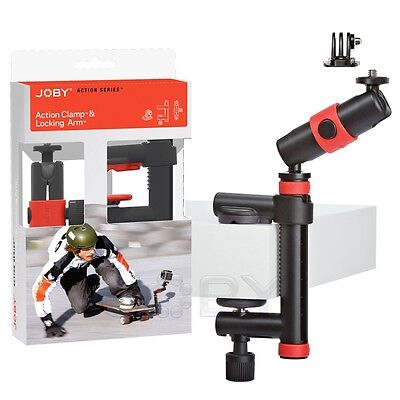 Joby Action Clamp & Locking Arm for GoPro Contour Sony Action Cam camera JB01291