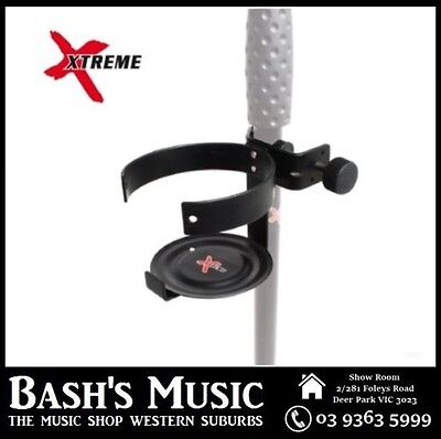 Xtreme MSD93 Microphone Drink Holder Attachment For Mic Stands Music Stands NEW