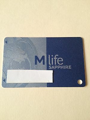 M Life Sapphire Casino Slot Players Card