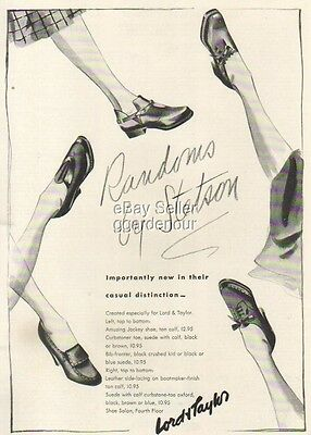 1940 Stetson Women's shoes 40's fashion shoe Ad : Vintage Advertising