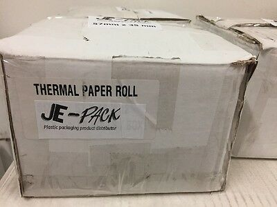 Thermal Rolls 57mm X 35 mm X 12 mm. Suitable For CBA Terminals As Per Photo