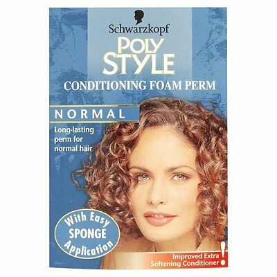Schwarzkopf Poly Style Conditioning Foam Perm For Normal Hair #4LY