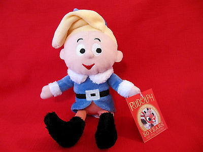 50 Years & Still Glowing RUDOLPH MISFIT HERBIE THE ELF CHRISTMAS PLUSH with TAG