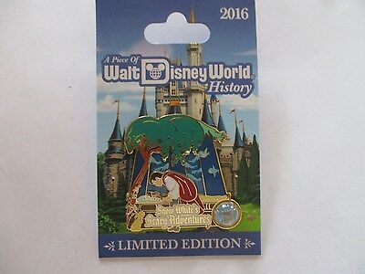 Disney Pin A Piece of Walt Disney World History Snow Whites Scary Adventures LE