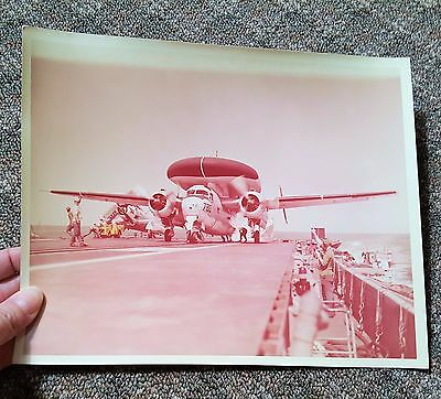 1960's REAL MILITARY PHOTO US NAVY Plane 780 8 x 10