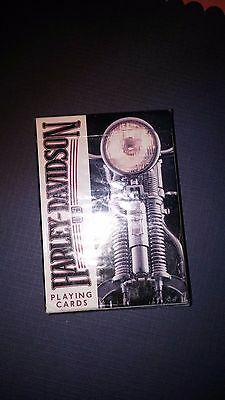 Unopened Deck of Harley-Davidson Motor Cycles USA  Playing Cards, US Play.Card