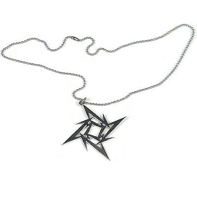 Metallica Collectible: 2007 Ninja Star Pendant Ball Chain Necklace - NEW
