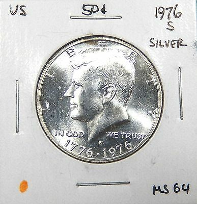 1976-S Kennedy Silver Half Dollar MS++++ -- We combine shipping