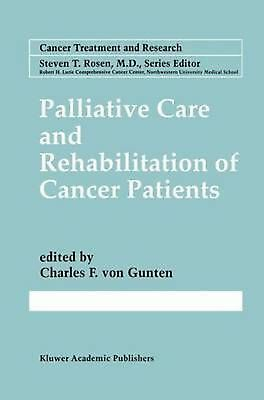 Palliative Care and Rehabilitation of Cancer Patients (English) Hardcover Book F