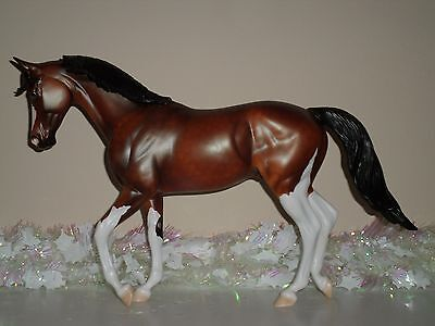 """USED Peter Stone Traditional Model """"Hats Off"""" 2016 FCM OOAK (Thoroughbred)"""