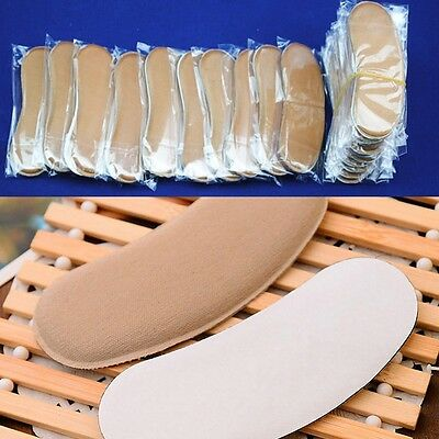 5 Pairs Sticky Fabric Shoe Back Heel Inserts Insoles Pads Cushion Liner Grips