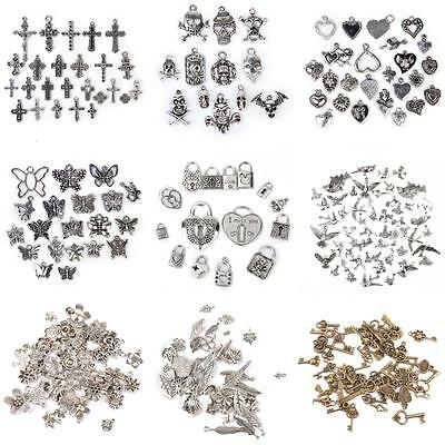 Vintage Tibetan Silver Mixed Beads Charms Pendants Jewellery Making Crafts