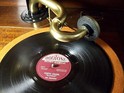 """Orthophonic Victrola Credenza """"magic Arm"""" Lightens The Load, Plays 45's Too!!"""