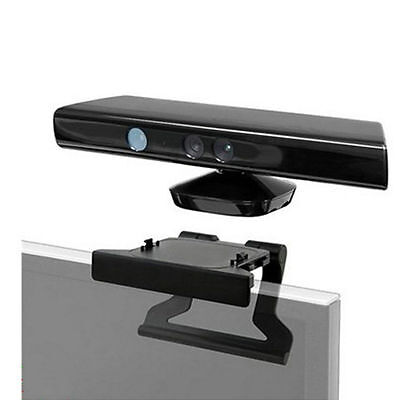 TV Clip Mount Mounting Stand Holder for Microsoft Xbox 360 Kinect Sensor ZP