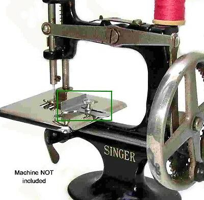 Singer 20 Toy Childs Sewing Machine Parts 1910 CLOTH SEAM GUIDE