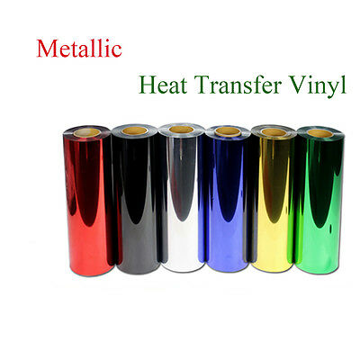 Metallic Heat Transfer Vinyl T-shirt Vinyl Garment Film for Plotter Cutter