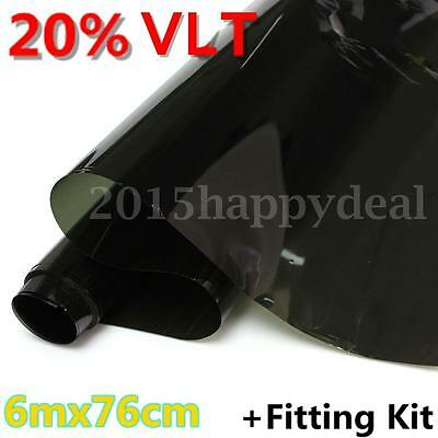 Olive Green 20% VLT Car Home Office Window Glass Tint Film Tinting Limo 6m x76cm
