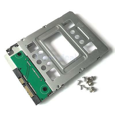 2.5 inch to 3.5 inch SATA SAS HDD SSD Hard Disk Carrier Caddy Tray Bracket