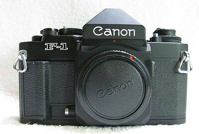 Canon  New F1   Classic  35mm Film Camera  , Near Mint