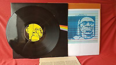 "Pink Floyd TAKRL ""Dark Side Of The Moon"" 1973, original PF cover, extras VG+"