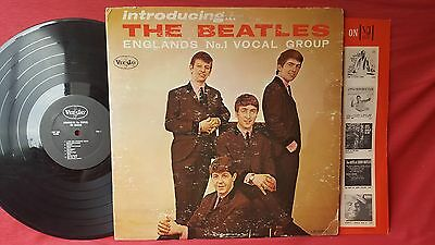 Introducing The Beatles rare black label Oval logo, authentic 1964, VJ red inner