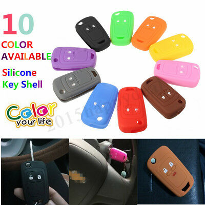 2 Button Silicone Remote Key Shell Cover For VAUXHALL/ OPEL ASTRA CORSA INSIGNIA