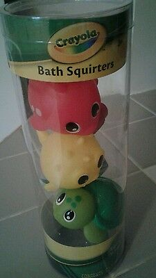 Crayola Bath Squirters Squeeze n Squirt - 5 CT