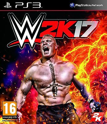 WWE 2K17 PS3 Brand New & Sealed