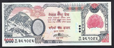 Nepal 1000 Rupees 2008  AU-UNC  P. 68,   Banknote, Uncirculated