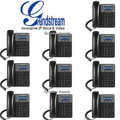 10 Pack Set Grandstream GXP1610 VoIP IP Phone 3 Way Conferencing 1 SIP 2 Call