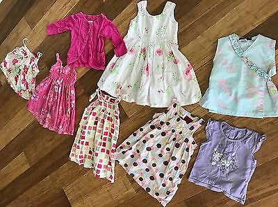 girls size 2 summer clothes SPROUT, PUMPKIN PATCH COTTON ON + more Bundle