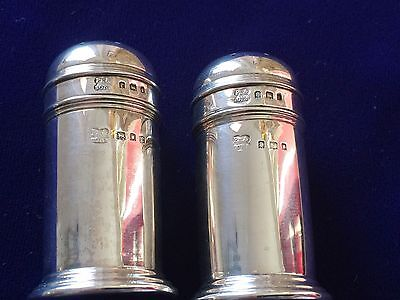Solid Silver Pepperettes - Pearce & Sons of London - Hallmarked 1902