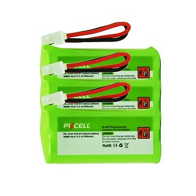 5x 2.4V 800mAh Cordless Home Phone Rechargeable Ni-MH Battery For Uniden BT-1008