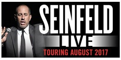 Jerry Seinfeld Tickets x 2 - Perth 4th August 8pm