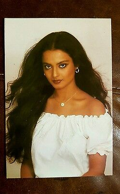 Rekha PC-201 BOLLYWOOD POST CARD POSTCARDS INDIAN ACTRESS NEW
