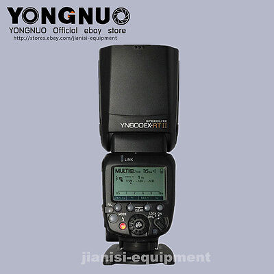YONGNUO TTL YN600EX-RTII  HSS Master Flash speedlite for canon