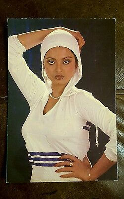 Rekha PC-91 BOLLYWOOD POST CARD POSTCARDS INDIAN ACTRESS NEW