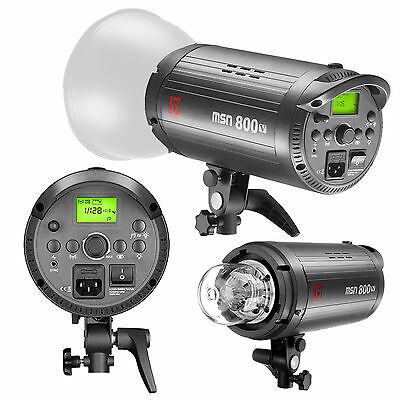 800w High Speed Sync Flash Head | JINBEI MSN | Professional Photography Studio