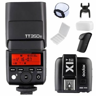 Godox TT350S GN36 2.4G TTL Flash + X1T-S Transmitter for Sony Mirrorless Camera
